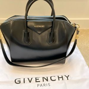 Givenchy Antigona rare w/ gold hardware